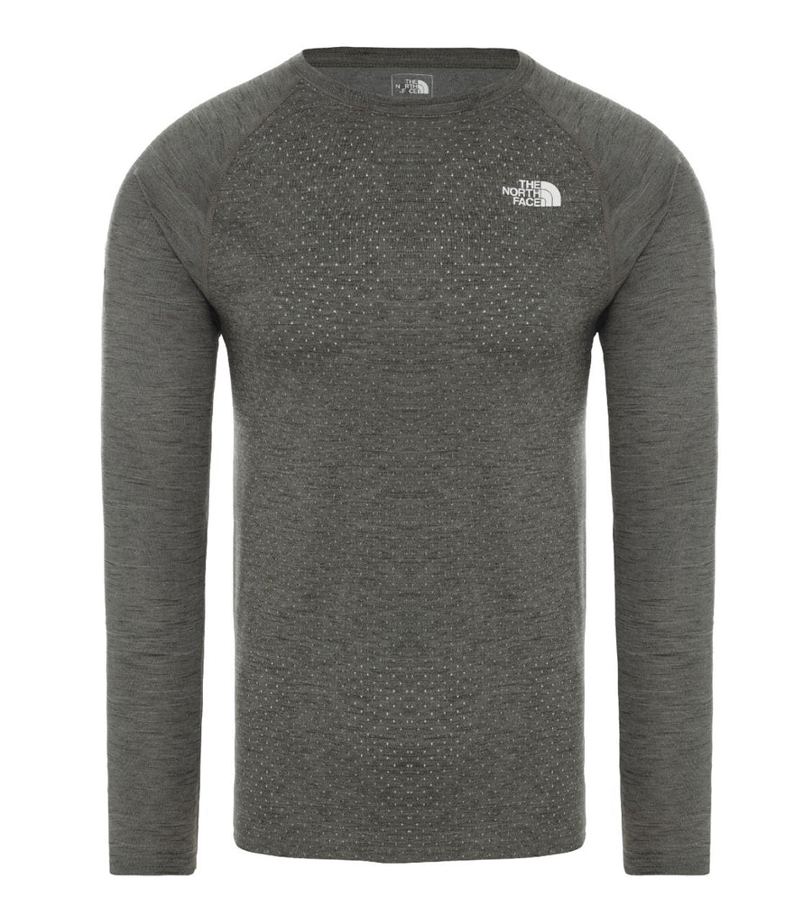 MEN'S ACTIVE TRAIL JACQUARD LONG-SLEEVE TOP