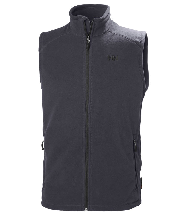 DAYBREAKER FLEECE VEST - GRAPHITE BLUE