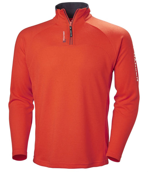 HP 1/2 ZIP PULLOVER - GRENADINE