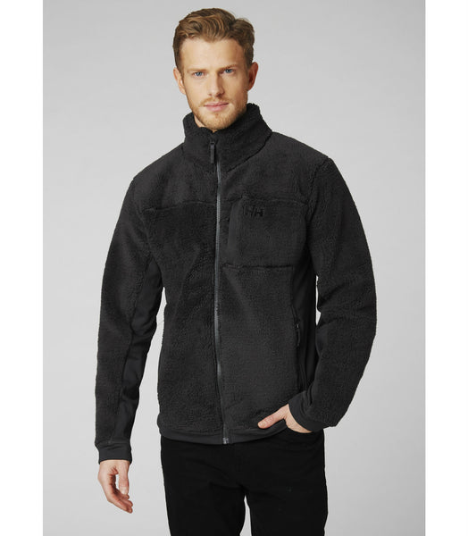 JUELL PILE JACKET - BLACK