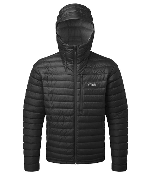 MICROLIGHT ALPINE JACKET - BLACK/SHARK