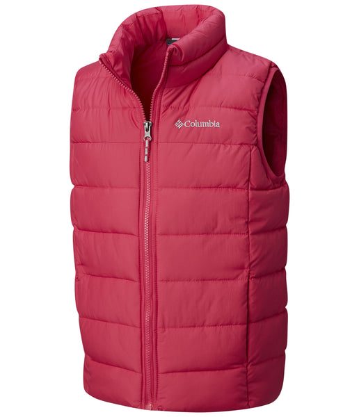KID'S POWDER LITE PUFFER VEST (AGES 4-10) - PINK