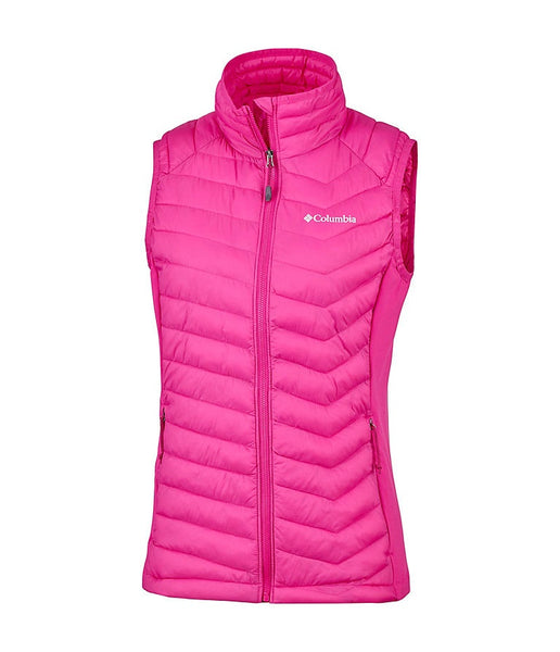 WOMEN'S POWDER PASS VEST - HAUTE PINK