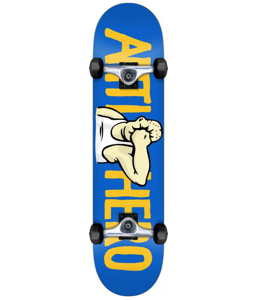 ANTI HERO COMPLETE FACE MD BLUE SKATEBOARD