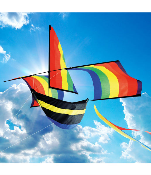 RAINBOW BOAT KITE