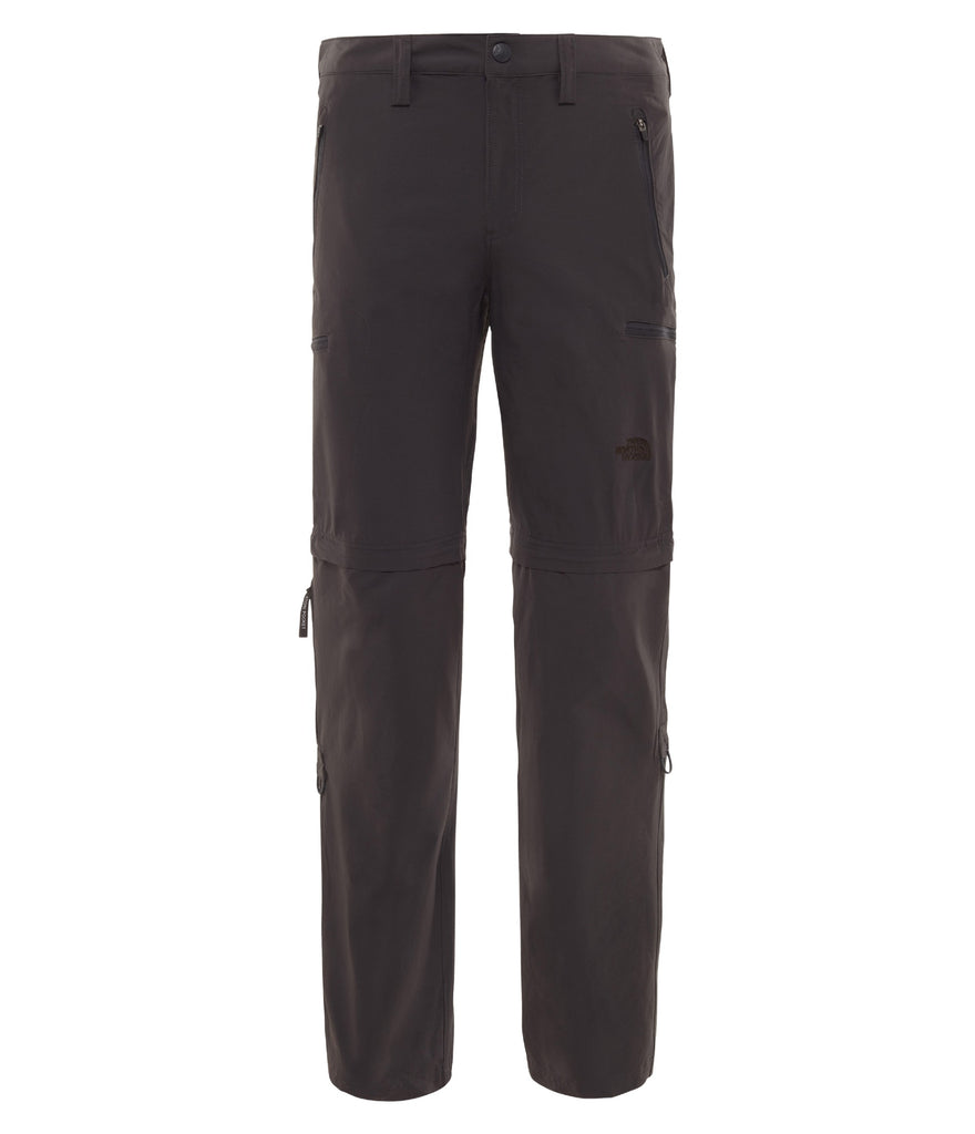 MEN'S EXPLORATION CONVERTIBLE PANT - ASPHALT GREY