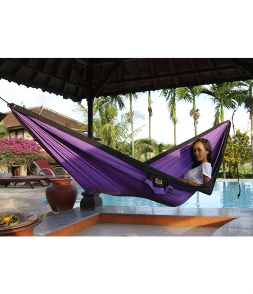 DOUBLE HAMMOCK II WITH FREE HANGING KIT WORTH €12