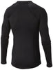 MIDWEIGHT STRETCH LONG SLEEVE TOP - BLACK