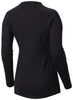 WOMEN'S MIDWEIGHT STRETCH LONG SLEEVE TOP - BLACK