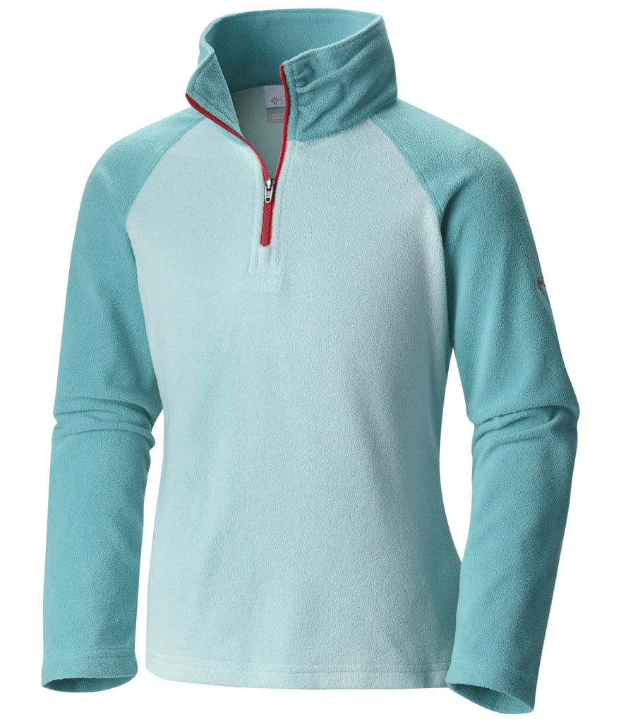YOUTH GIRL'S GLACIAL FLEECE HALF ZIP (AGES 10-16)