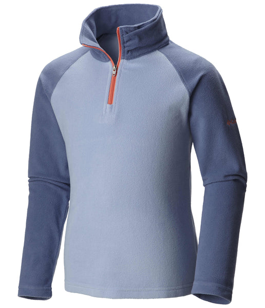 GIRL'S GLACIAL FLEECE HALF ZIP (AGES 4-8)