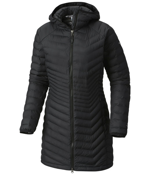 WOMEN'S POWDER LITE MID JACKET - BLACK