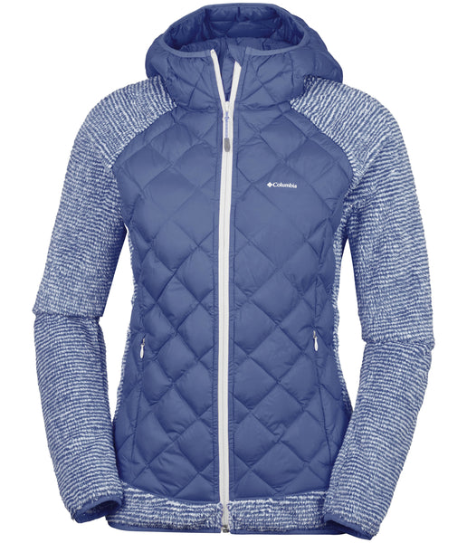 WOMEN'S TECHY HYBRID FLEECE - NOCTURNAL