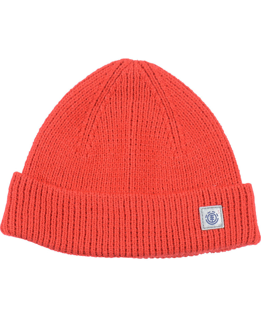 S LINE SKULLY BEANIE - ELEMENT RED