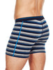 MEN'S ANATOMICA BOXERS - LARGO/MIDNIGHT NAVY/STRIPE