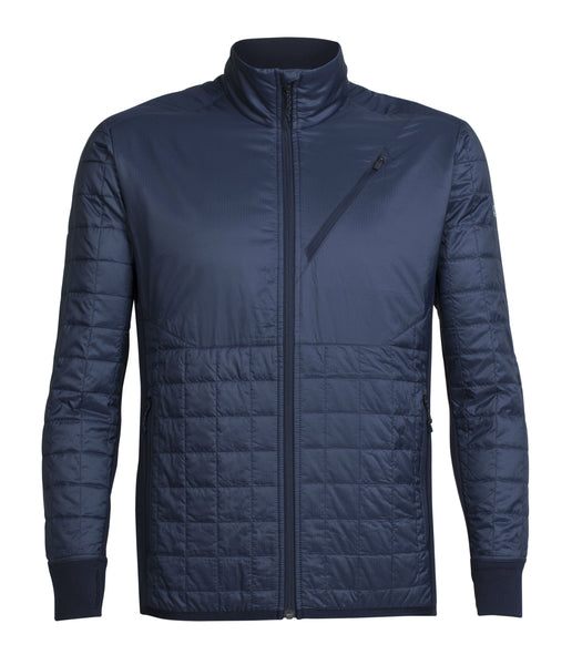 MEN'S HELIX LS ZIP - MIDNIGHT NAVY