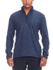 MEN'S ORIGINAL LS HALF ZIP - FATHOM HEATHER