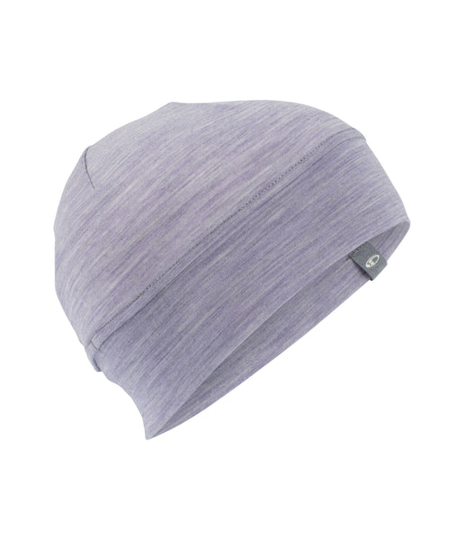 CHASE PONYTAIL BEANIE - SILK HEATHER