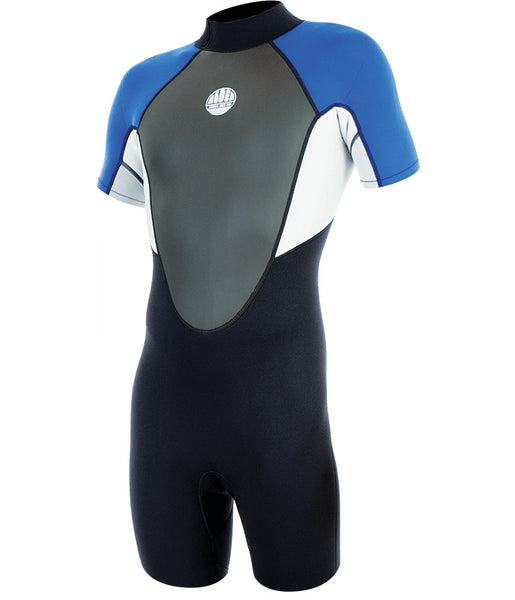 MEN'S IMPACT 3:2MM SHORTIE WETSUIT - ROYAL BLUE