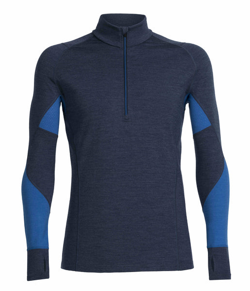 MEN'S WINTER ZONE LS HALF ZIP