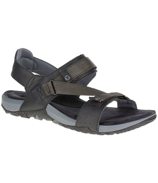 MEN'S TERRANT STRAP SANDAL - DARK EARTH