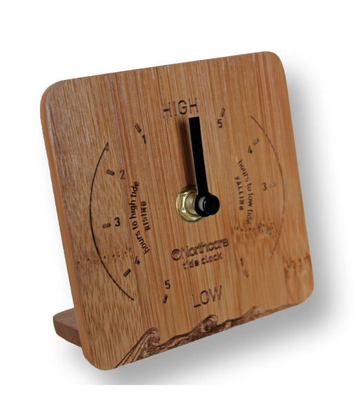 DESK TOP BAMBOO TIDE CLOCK