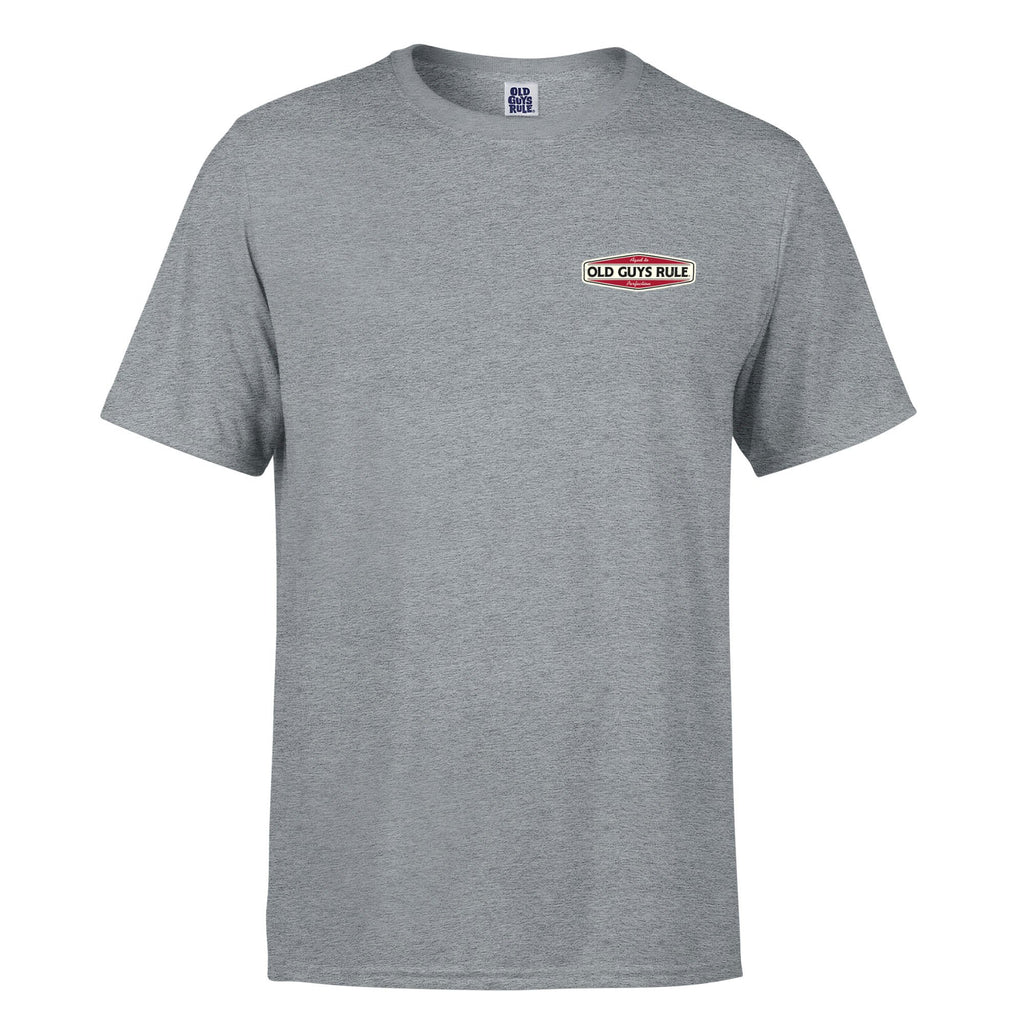 AGED TO PERFECTION 2 T-SHIRT - SPORTS GREY