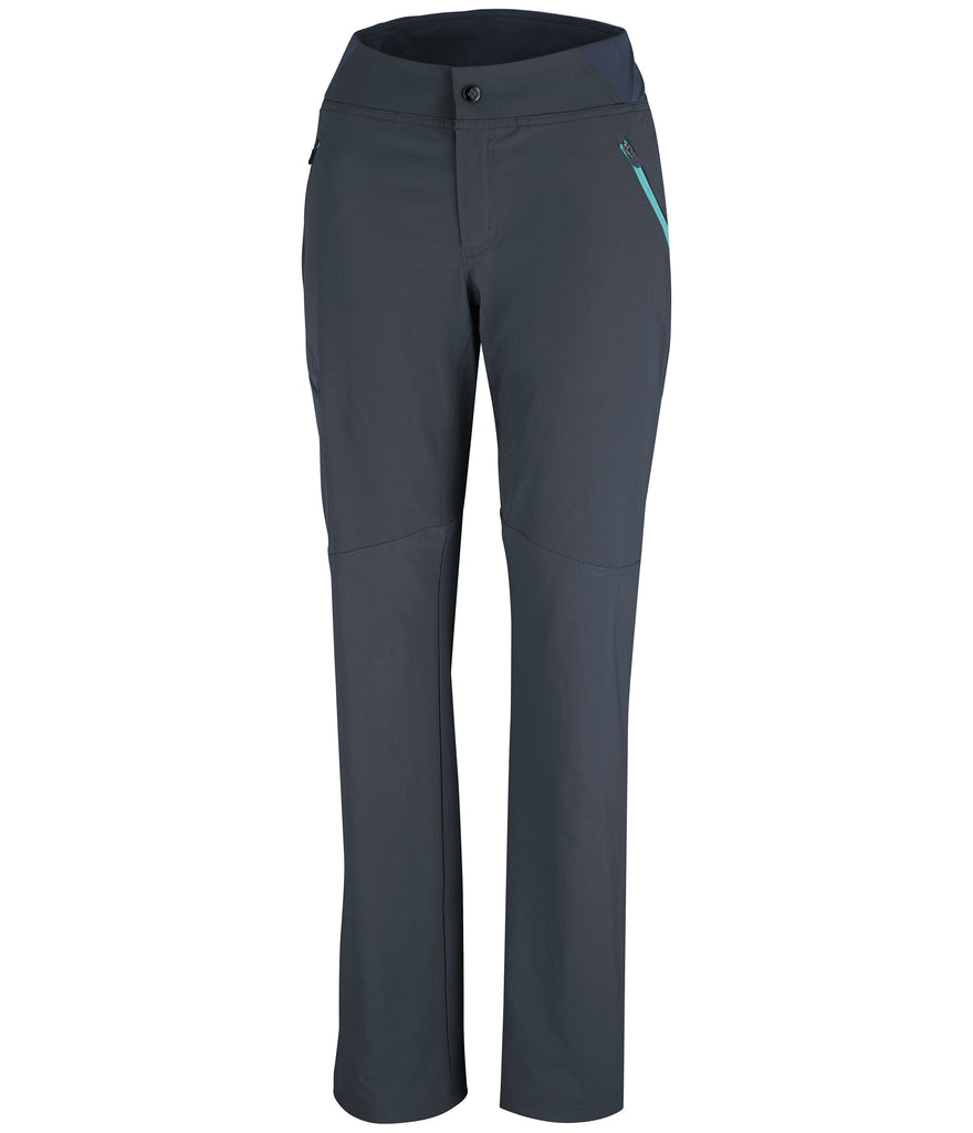 WOMEN'S BACK UP PASSO ALTO STRAIGHT LEG PANT - INDIA INK/ATOLL