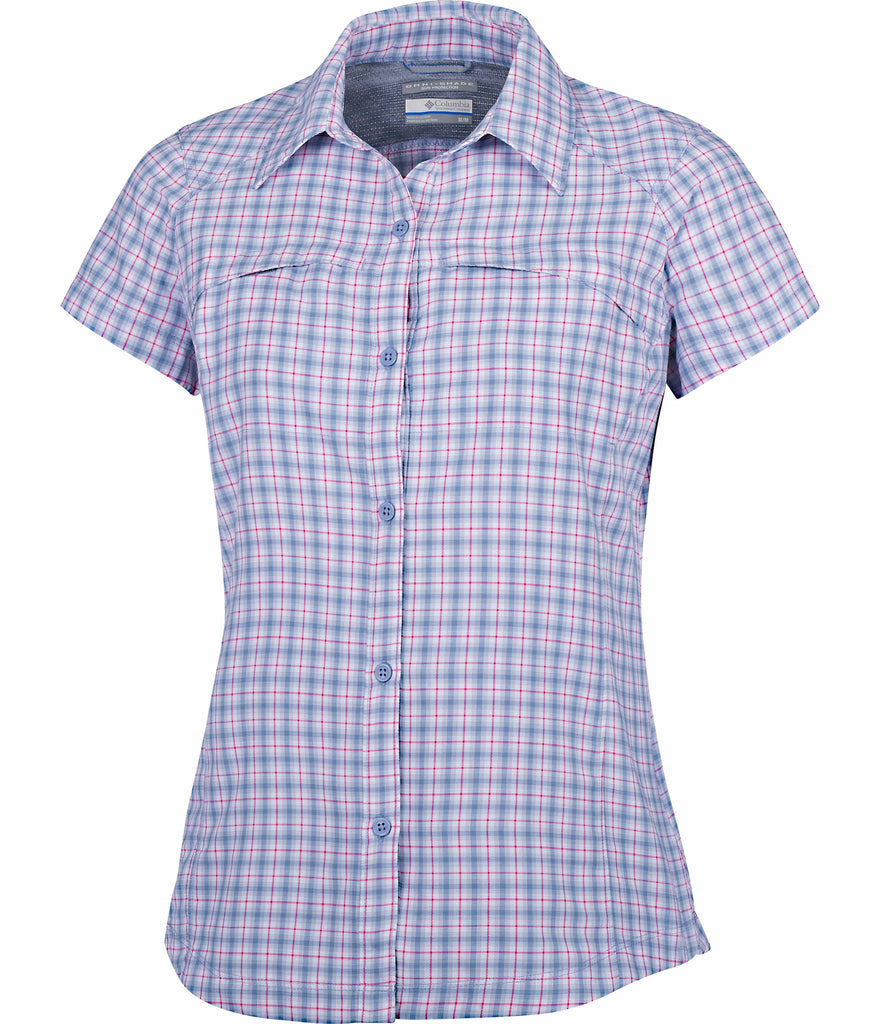 WOMEN'S SILVER RIDGE MULTI PLAID S/S SHIRT