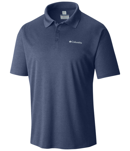 ZERO RULES POLO SHIRT - CARBON HEATHER
