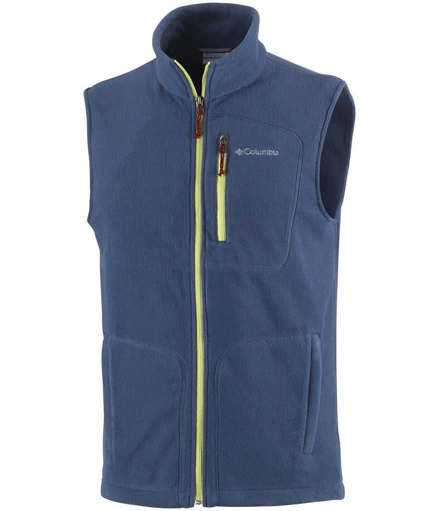 MEN'S FAST TREK FLEECE VEST - ZINC