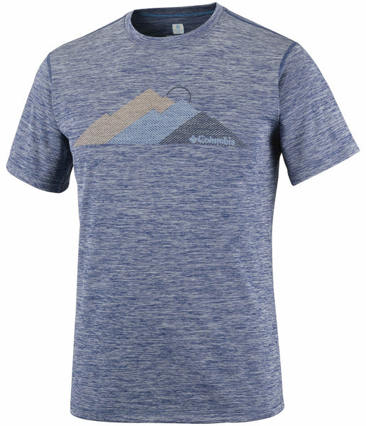 MEN'S ZERO RULES SHORT SLEEVE GRAPHIC SHIRT - CARBON HEATHER