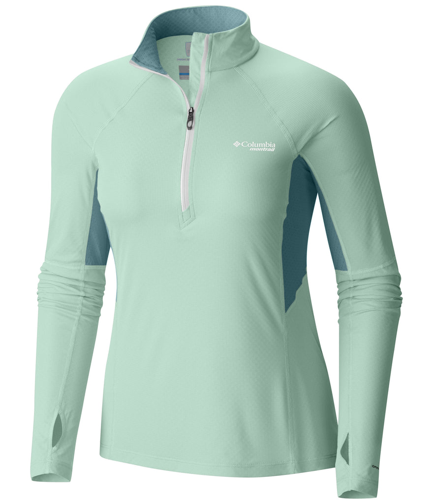 WOMEN'S MONTRAIL TITAN ULTRA HALF ZIP SHIRT