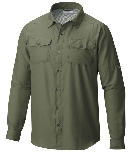 PILSNER PEAK II LONG SLEEVE SHIRT - MOSSSTONE