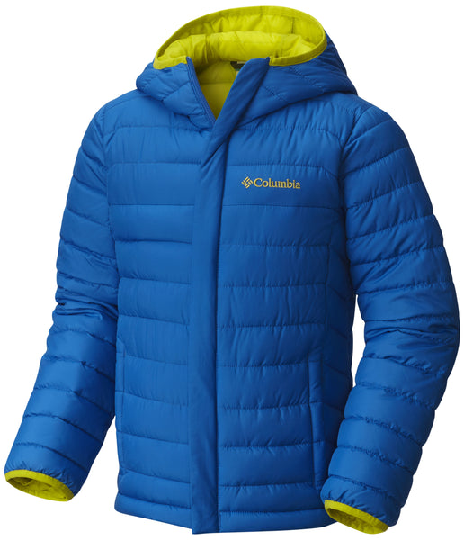 KID'S POWDER LITE PUFFER - SUPER BLUE (AGES 4 - 8)