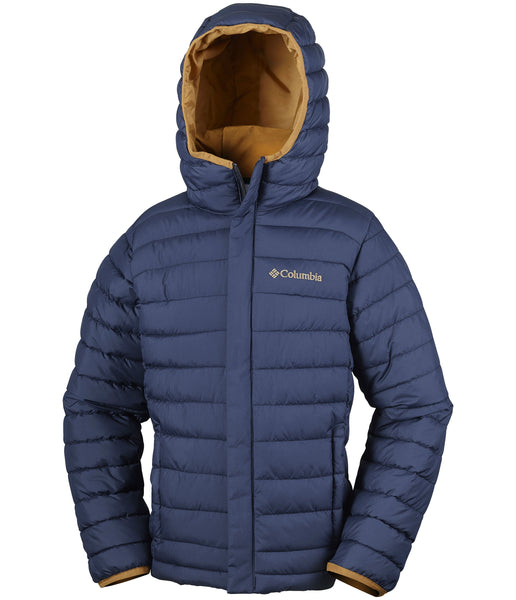 YOUTH POWDER LITE PUFFER - COLLEGIATE NAVY (AGES 10 TO 18)