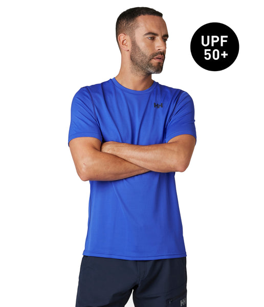 HH LIFA ACTIVE SOLEN T-SHIRT - ROYAL BLUE