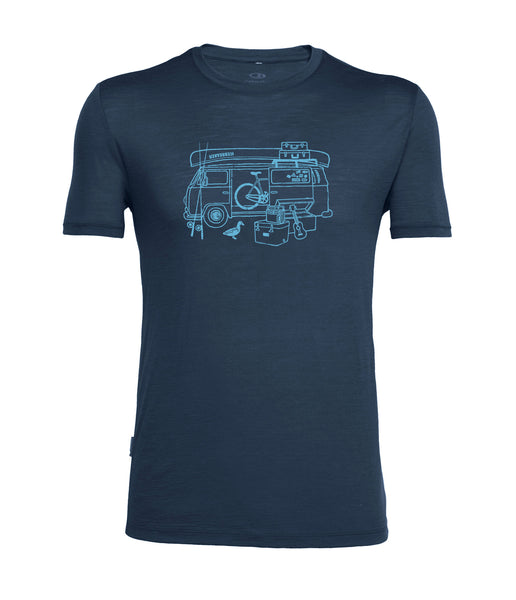 MEN'S TECH LITE SHORT SLEEVE CREWE VAN LIFE
