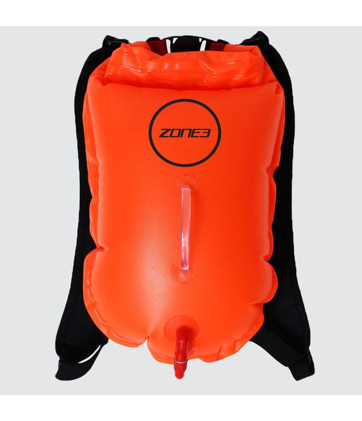 SWIM RUN BACKPACK DRY BAG BUOY - 28L - ORANGE