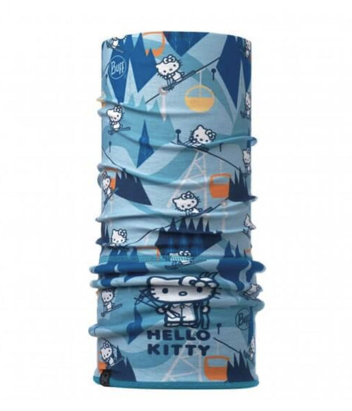 CHILD'S POLAR BUFF - HELLO KITTY - TURQUOISE