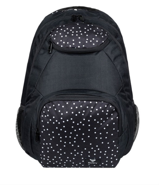 SHADOW SWELL BACKPACK - TRUE BLACK DOTS FOR DAYS