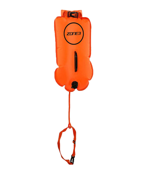 SWIM SAFETY BUOY/DRY BAG - 28L - HI-VIS ORANGE