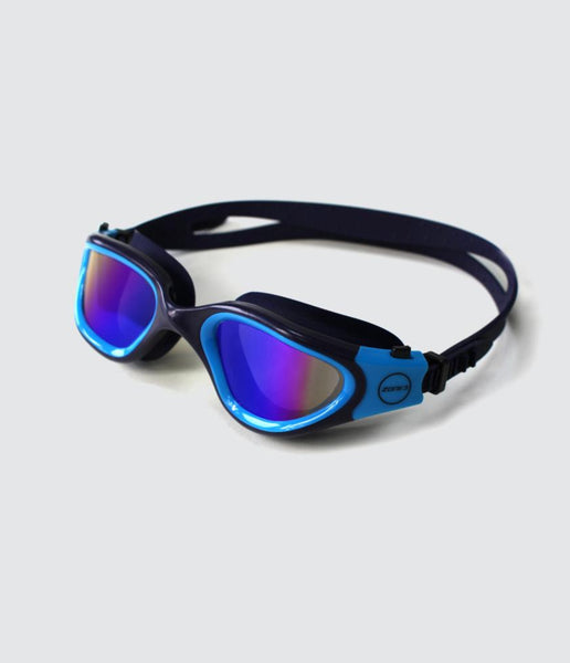 VAPOUR SWIM GOGGLES - POLARIZED LENS - NAVY/BLUE - OS