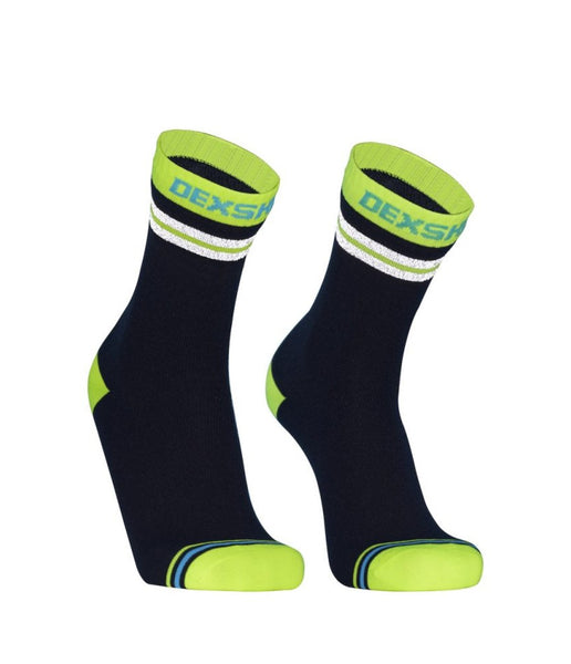DEXSHELL PROVISIBILITY CYCLING SOCKS - HIVIS YELLOW