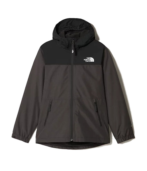 BOY'S WARM STORM JACKET (AGES 6-10) - GRAPHITE