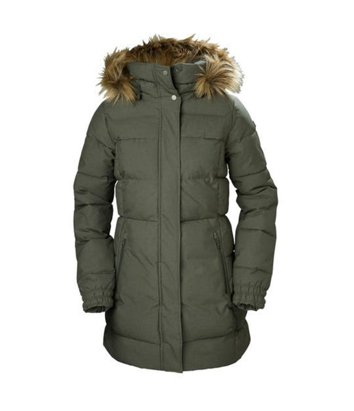 WOMEN'S BLUME PUFFY PARKA - BELUGA