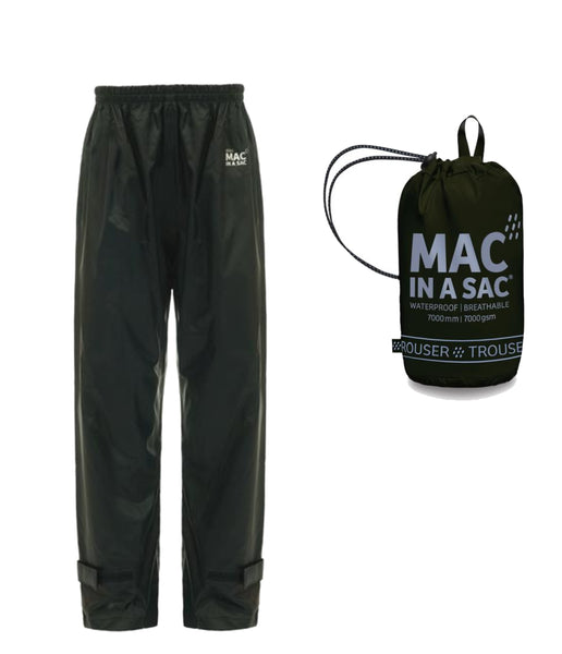 MAC IN A SAC ORIGIN 2 ADULT OVERTROUSERS - BLACK
