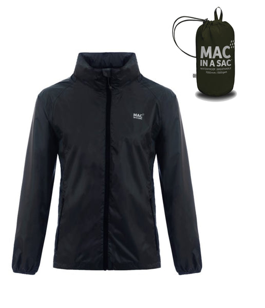 MAC IN A SAC ORIGIN 2 ADULT JACKET - JET BLACK