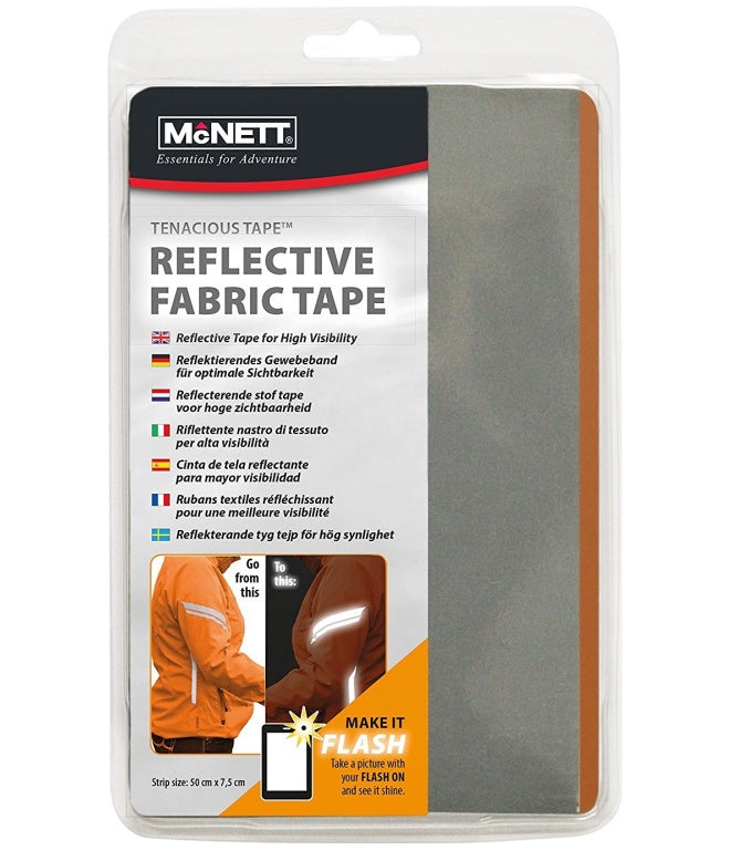 MCNETT TENACIOUS REFLECTIVE FABRIC TAPE