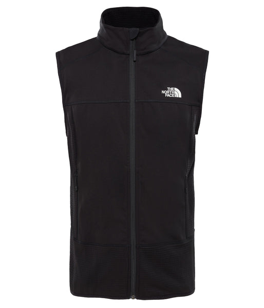 MEN'S HYBRID SOFTSHELL VEST - TNF BLACK